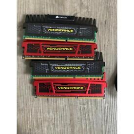 x4 8GB Corsair Vengeance CMZ DDR3