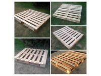 PALLETS for Sale £5 each, can deliever locally, Ideal for Pallet furniture