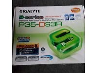Gigabyte s-series ultra durable 2 p35-ds3r motherboard