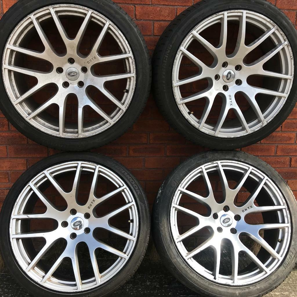 6ef5d60d6306 Range Rover Sport Vogue 22 inch alloy wheels tyres BMW X5 Discovery alloys  rims 285 35