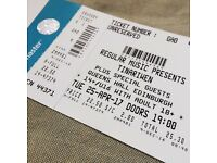 Pair of Tinariwen tickets ! ! HALF PRICE ! ! 25th Apr Queens Hall Edi