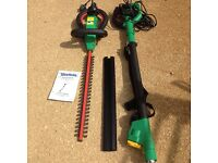 Hedge trimmer long pole extension electric trimmer with clippers