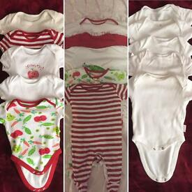 Baby girl clothes 0-3m