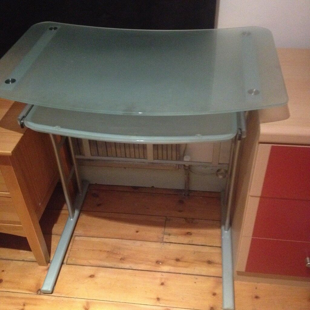 Glass work desk for sale in W5