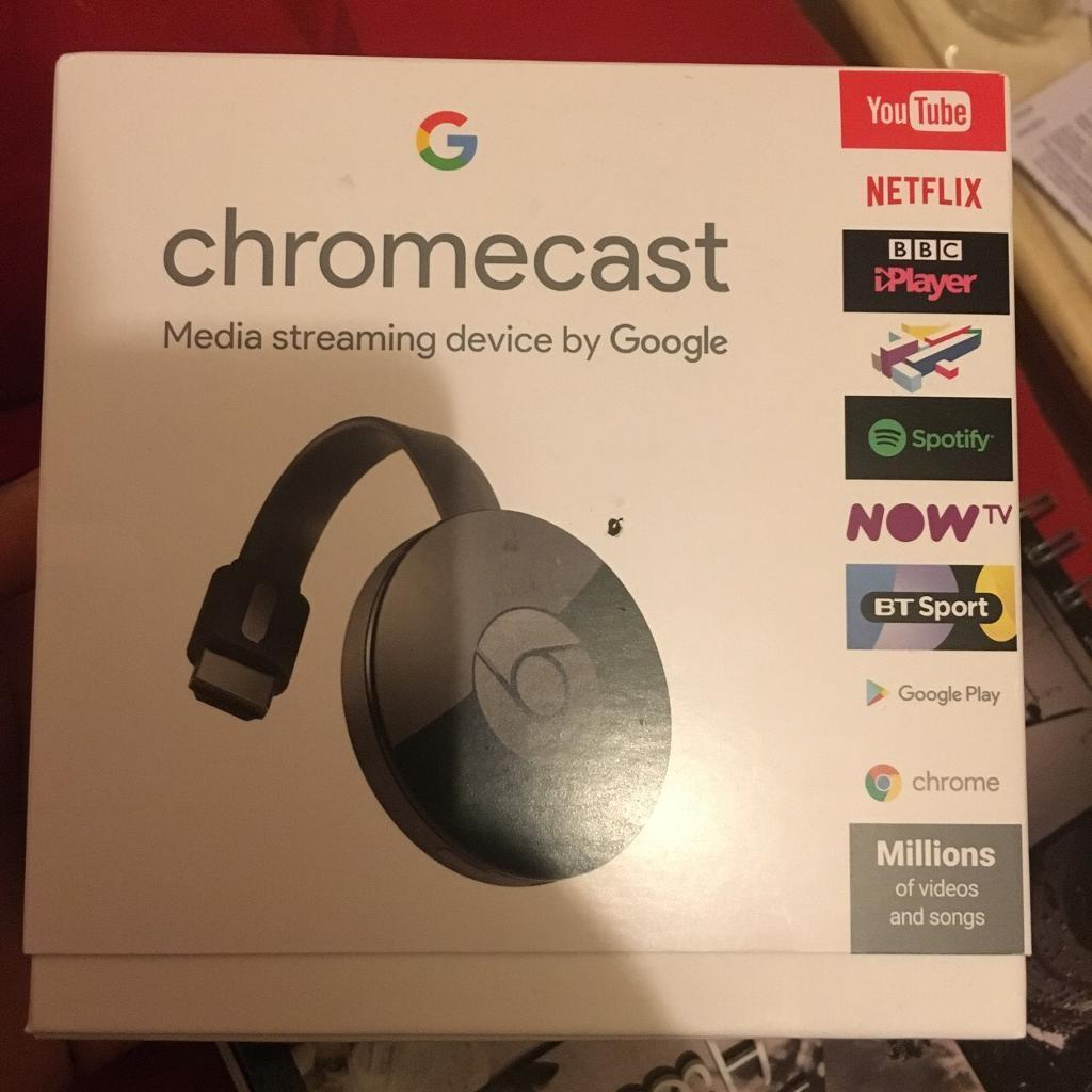 Google chromecast brand new