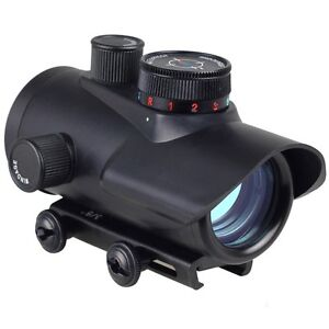 Red/Green/Blue Dot 30mm Reflex Scope Sight 20mm Weaver Mount RD30