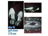 Mens size 10 golf shoes
