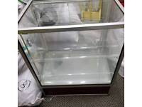 Glass showcase/ counter/ display unit for mobile computer shop