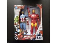 Brand New Marvel Avengers Walkie Talkies - Iron Man and Captain America Twin Pack