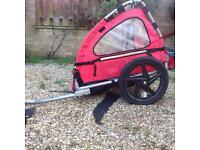 Children Spokey Joe bike trailer