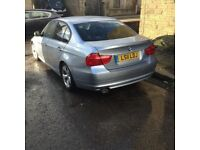 2011 BMW 320d silver blue black leather car drives like new immaculate condition in an out