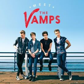 Two Front Row Tickets to The Vamps Live @ The 02 Areana £100 Each