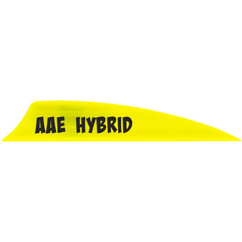 AAE Hybrid 2.0 Vanes Yellow Shield Cut 100 Pk.