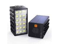 10600mAh 3 in 1 Car Emergency Light Emergency Flasher Waterproof Camping LED Light Solar Charger