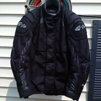 Joe Rocket Motorcycle Jacket - size Large