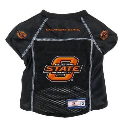 Oklahoma State Cowboys Medium Pet Jersey [NEW] NCAA Dog Puppy Shirt Clothes M