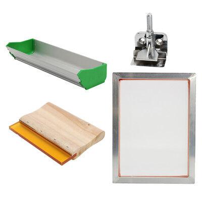 Silk Screen Printing Machine Press Frame Kit Set For T-shirt Diy Printer