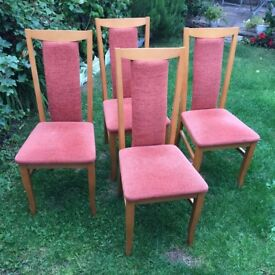 4 x chair only £1.25 each