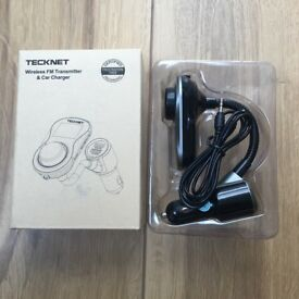 Multiway Bluetooth FM Transmitter (Brand New)