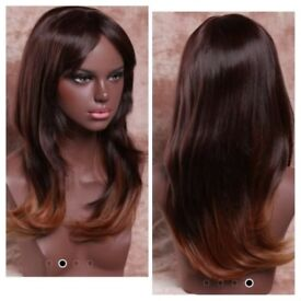 Beautifully made wigs/ ombre fronta lace wigs