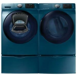 Samsung WF45K6200AZ 27 Front Load Washer And  DV45K6200EZ Dryer Pair Sale
