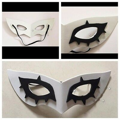 Persona 5 P5 Mask Hero Arsene Joker Cosplay Prop Costume EVA Party Mask US](Costume P)