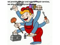 General Handyman , builder, carpentry/painting all London
