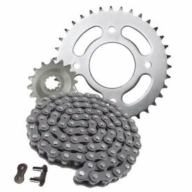 Honda CBF125 CBF 125 2009 - 2014 Heavy Duty Chain And Sprocket Kit