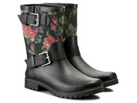 Polo Ralph Lauren Women's Mora II Rain Shoes Wellies Wellingtons Boots Floral F12
