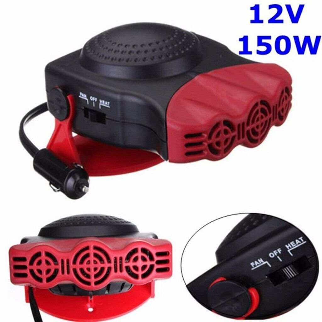 12V 150W Car Heater Portable Fast Heating Quickly Defrosts D