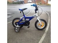 Giant Animator Blue and white 12 inch child's bike