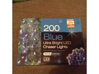 Brand new led indoor outdoor Christmas lights 2x boxes available 8functions brand new