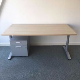 office desks, chairs etc come from clearance, must go!