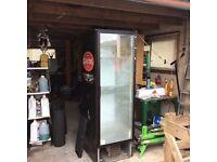 Drinks fridge for shop or cafe