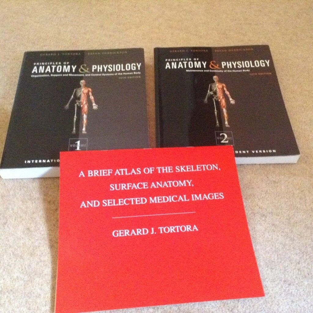 Principles of Anatomy & Physiology Volumes 1 and 2. Must have for ...