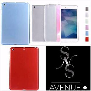 Coloured TPU Jelly Gel Rubber Soft Skins Shell Cover Cases For Apple IPad Mini