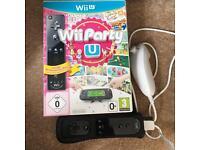 Wii Party U plus Remote and nunchuck Wii U
