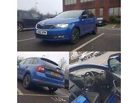 Skoda Rapid Spaceback Se Sports Edition Race Blue 110bhp HPI Clear FSH Hatchback Ford Vauxhall