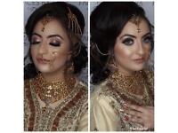 Asian bridal party hair and makeup artist. OFFERS