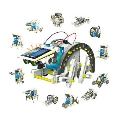 DIY KIDS Robot kit 13 In 1 Transformer Solar Power STEM Project For Ages 6-12