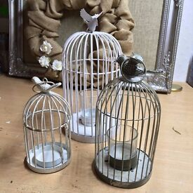 WEDDING DECORATIONS shabby chic/rustic/Table clothes/hangings/bird cages/seating plan board/glitter