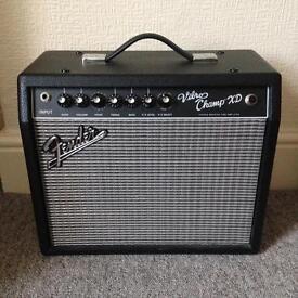 Fender Vibro Champ XD 5w valve guitar amp
