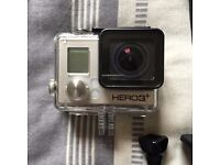 GoPro Hero 3+ Black with multiple accessories. Cheap for a quick sale.