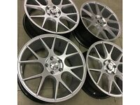 "18"" DCS Alloy wheels in 5x112 et45 to fit Vw Golf Jetta Caddy and Seat Leon"