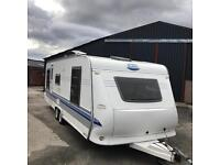 Hobby 635 Twin Axle Touring Caravan