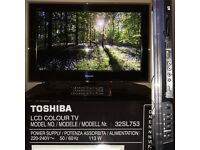 "Toshiba 32SL753 32"" SLIM Full HD INTERNET TV"