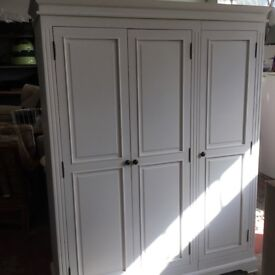 Chilton painted wardrobe