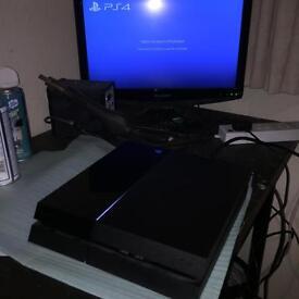 PS4, 500gb HDD & Warranty