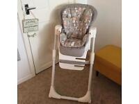Joie mimzy LX baby highchair