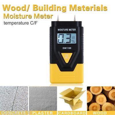3IN1 Digital Wood/Building Material Timber Digital Damp Moisture Detector Tester